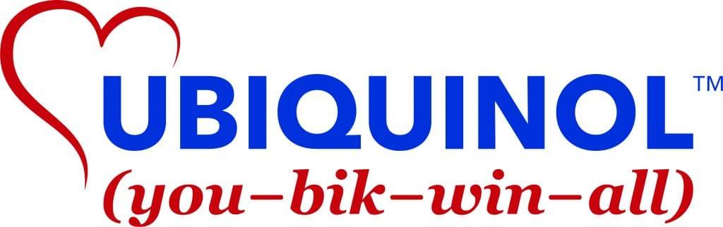 Ubiquinol logo with phonetic spelling and trademark symbol
